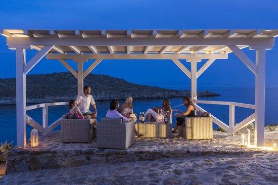 Casa del Mar Mykonos Seaside Resort: Lounge