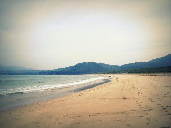 Kaiyu : Ohki beach (5min walk)