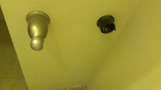 Comfort Inn & Suites Near Lake Lewisville: TP holder disintegrated once touched