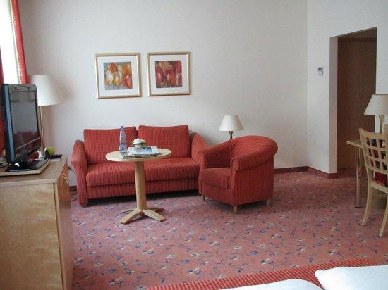 Ringhotel Weisser Hirsch : Komfortzimmer, Sitzecke