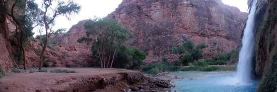 Havasupai Falls : You can't help but feel refreshed after you swim at the falls.