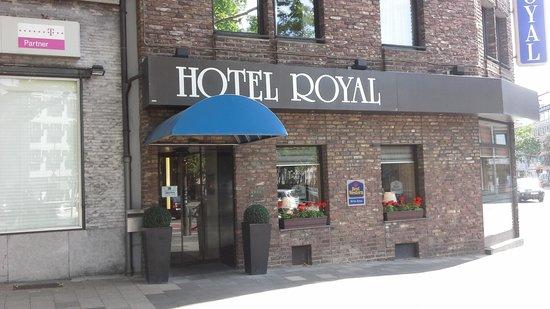 Best Western Hotel Royal: het hotel
