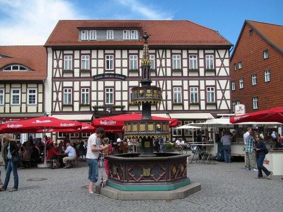 Ringhotel Weisser Hirsch : Hotel Weißer Hirsch, Wernigerode Marktplatz