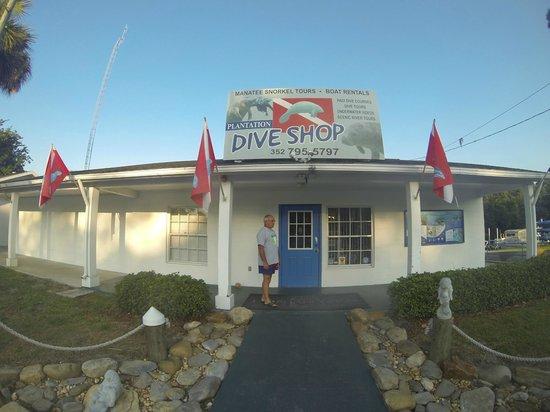 Plantation on Crystal River: Das Dive Center direkt am Hotel