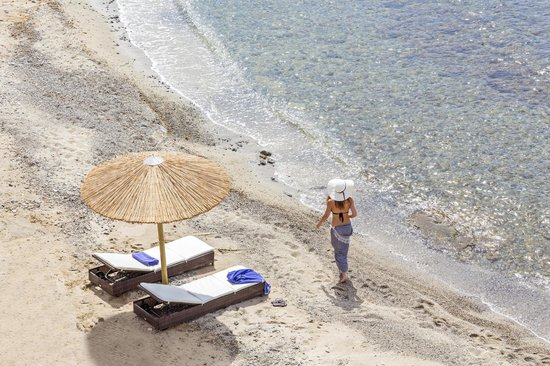 Casa del Mar Mykonos Seaside Resort: Private Beach