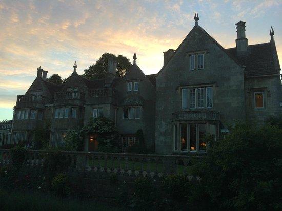 Woolley Grange: Beautiful sunset
