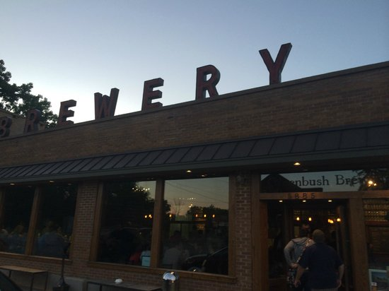 Greenbush Brewing Co.: Front of Brewery