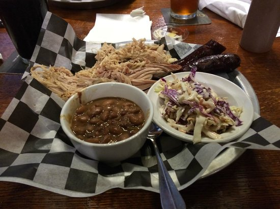 Greenbush Brewing Co.: BBQ Sampler Plate