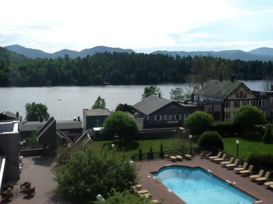 High Peaks Resort: view from 5th Floor room