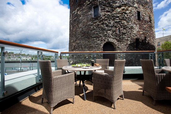 The Reg: Waterford's only stunning rooftop terrace overlooking Reginald's Tower and the River Suir