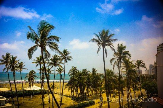 Hotel Caribe : vista desde la habitación