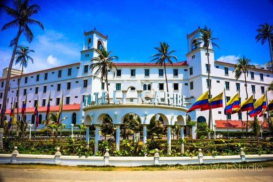 Hotel Caribe : hotel vista desde la calle