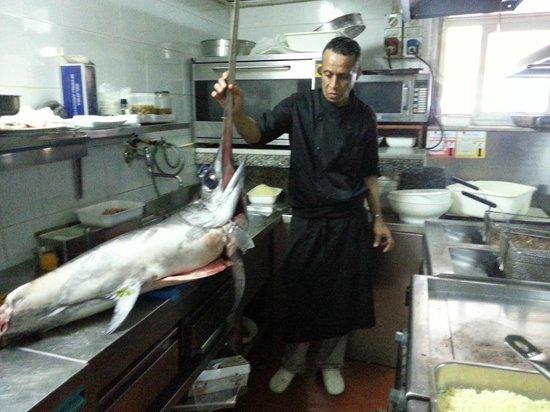 Lo Scoglio Ubriaco : la cucina !!!!