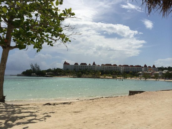 Grand Bahia Principe Jamaica: View of the from the Beach