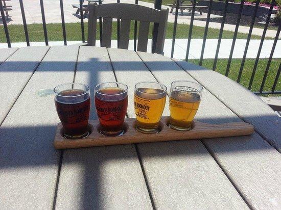 Starkey's Lookout: Beer Flight
