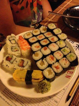 Zen: Piattata di sushi