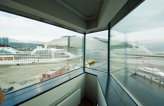 Clarion Hotel The Edge: Utsikt mot hamnen