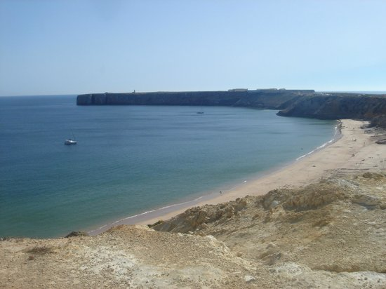 Pousada Sagres : the beach