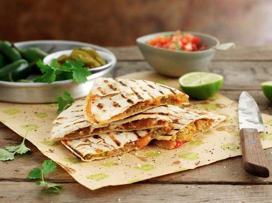 Just Falafel: Have you tried our Quesadilla Falafel?