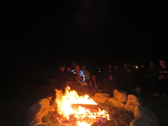 Canaan Village Inn: Evening Bonfire