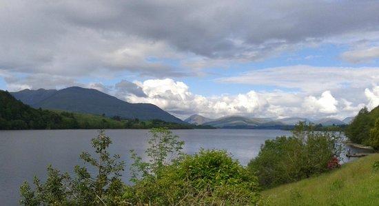 Portsonachan Hotel: Loch Awe from our terrace