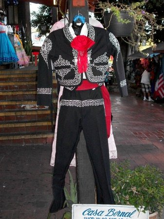Olvera Street: Clothing available for purchase
