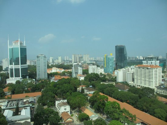 InterContinental Saigon Hotel: View from the Club Lounge
