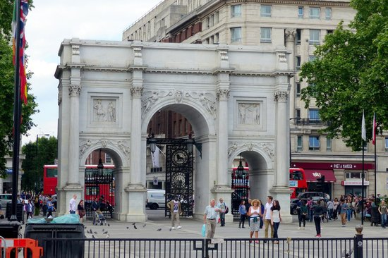 Marble Arch in London