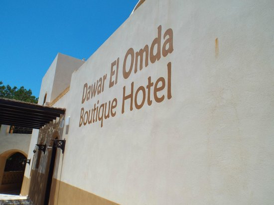 Dawar El Omda: The hotel