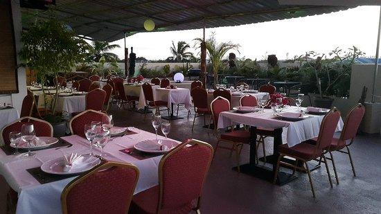 Le Lagon Hotel Restaurant : restaurent