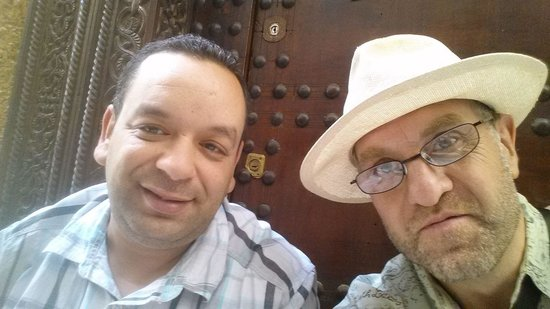 Riad Rcif : Io e Salim il proprietario