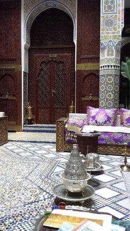 Riad Rcif : interno del riad