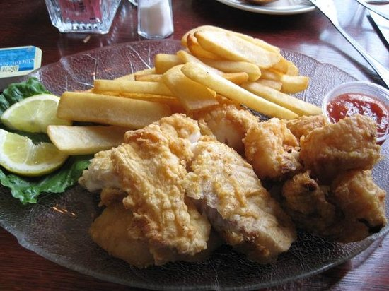 Black Bear Restaurant: Sea food platter