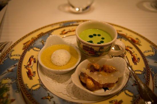 Restaurant Paul Bocuse : a dish