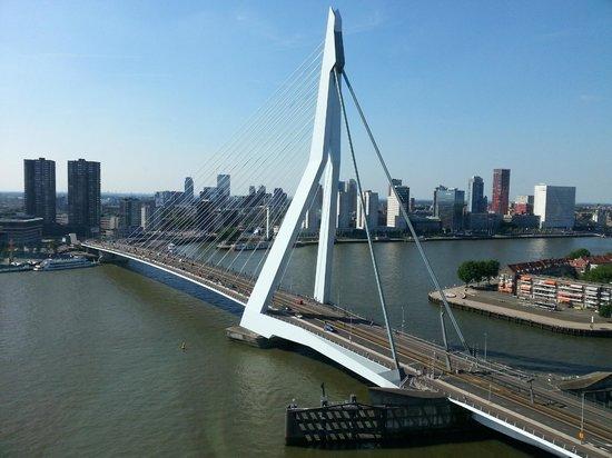 nhow Rotterdam: UItzicht kamer 1704