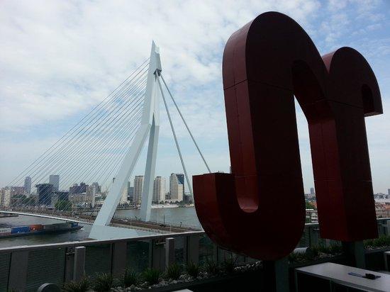 nhow Rotterdam: Vanaf het nhow terras