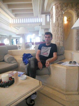 Citadel Azur Resort : Ресепшн