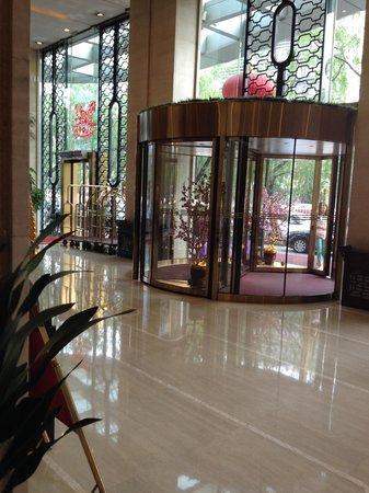 Guangming Hotel: ホテル玄関