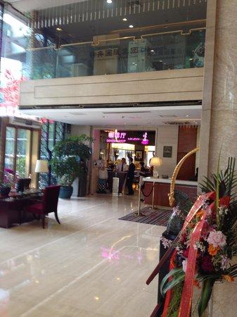 Guangming Hotel: 事務所棟とホテルが同じ建物内です
