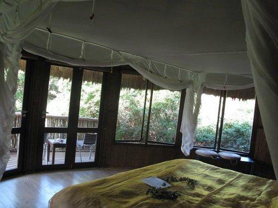Thonga Beach Lodge: Our room