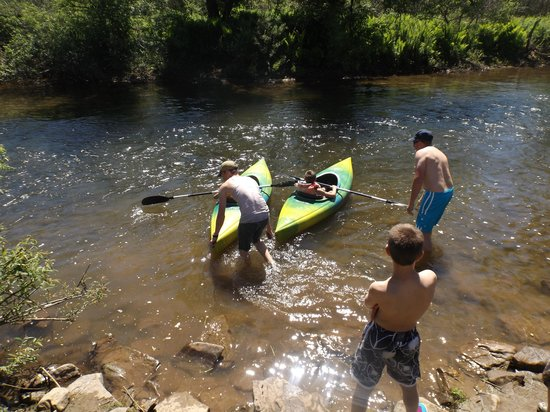 Allegheny River Campground : kayak racing