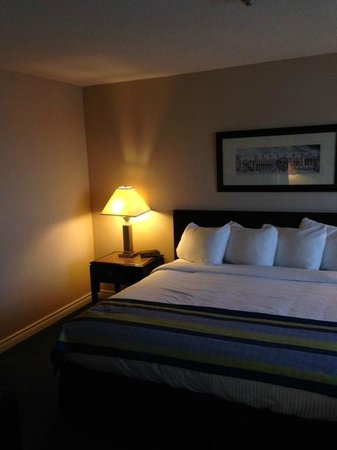 StationPark All Suite Hotel : Comfortable bed