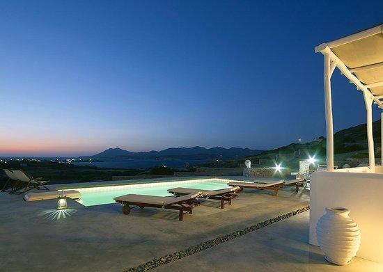 Villa Gallis: Σούρουπο