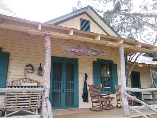 The Lodge on Little St. Simons Island : The original Hunting Lodge
