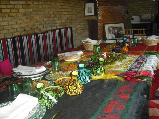 Cour de cuisine picture of atelier de cuisine chef tarik for Atelier cuisine marrakech