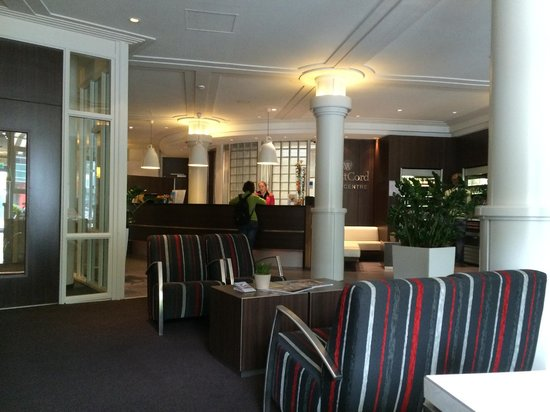 WestCord City Centre Hotel Amsterdam: Lobby-recepcion