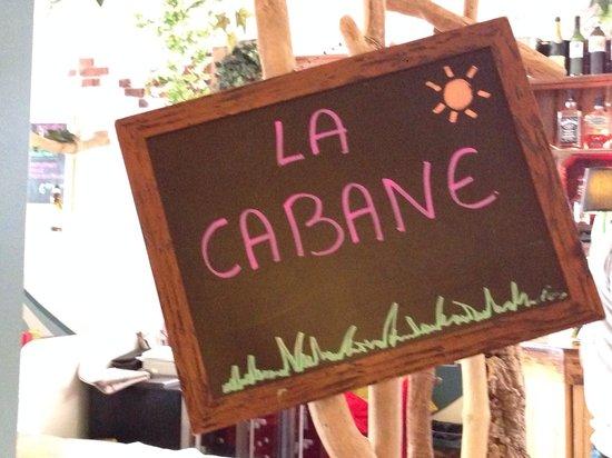 Le Papaya : La cabane au fond du resto ^^