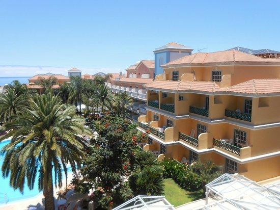Hotel Riu Garoe: Garden view