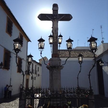 Cristo de los Faroles: Cristo tapando el Sol cordobés