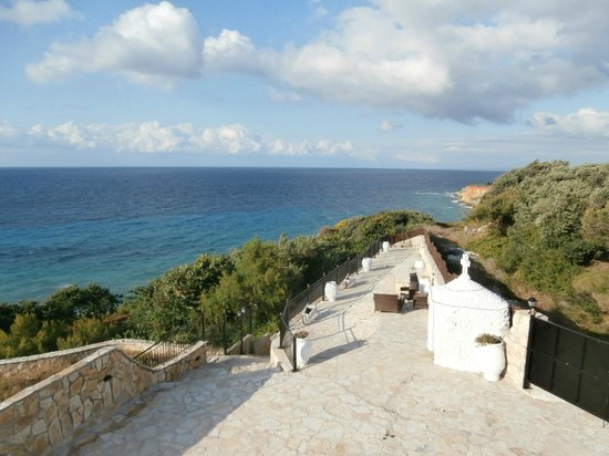 Mavrikos Luxury Villas - Romi, Klea, Kaly, Pearl: on the terrace